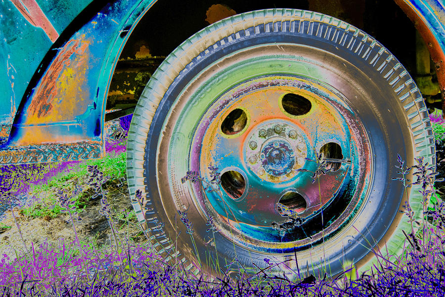 Wheel Photograph  - Wheel Fine Art Print