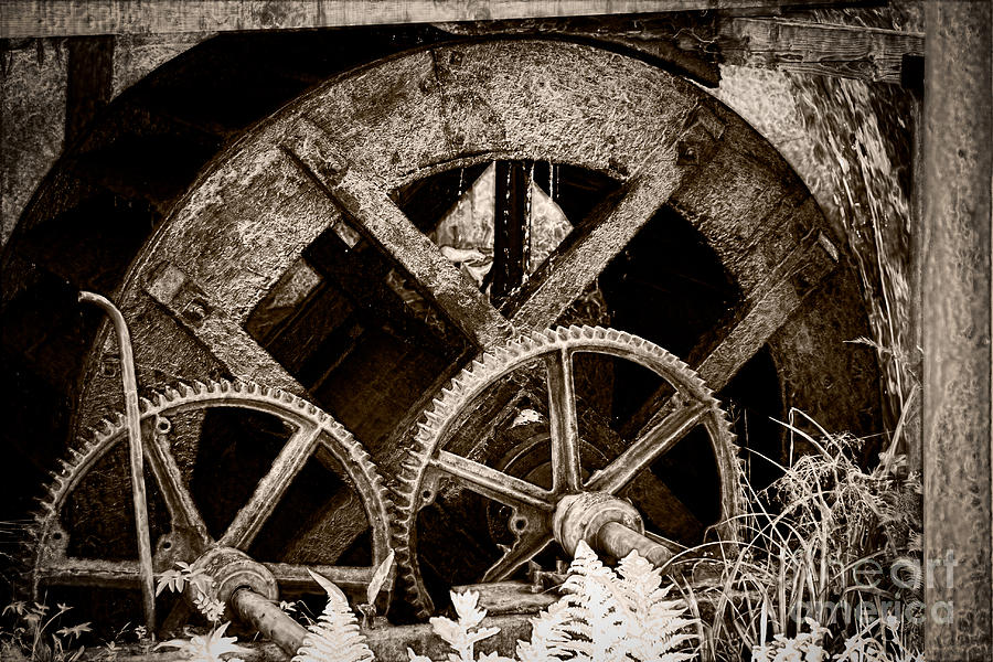 Wheels Of Time Photograph