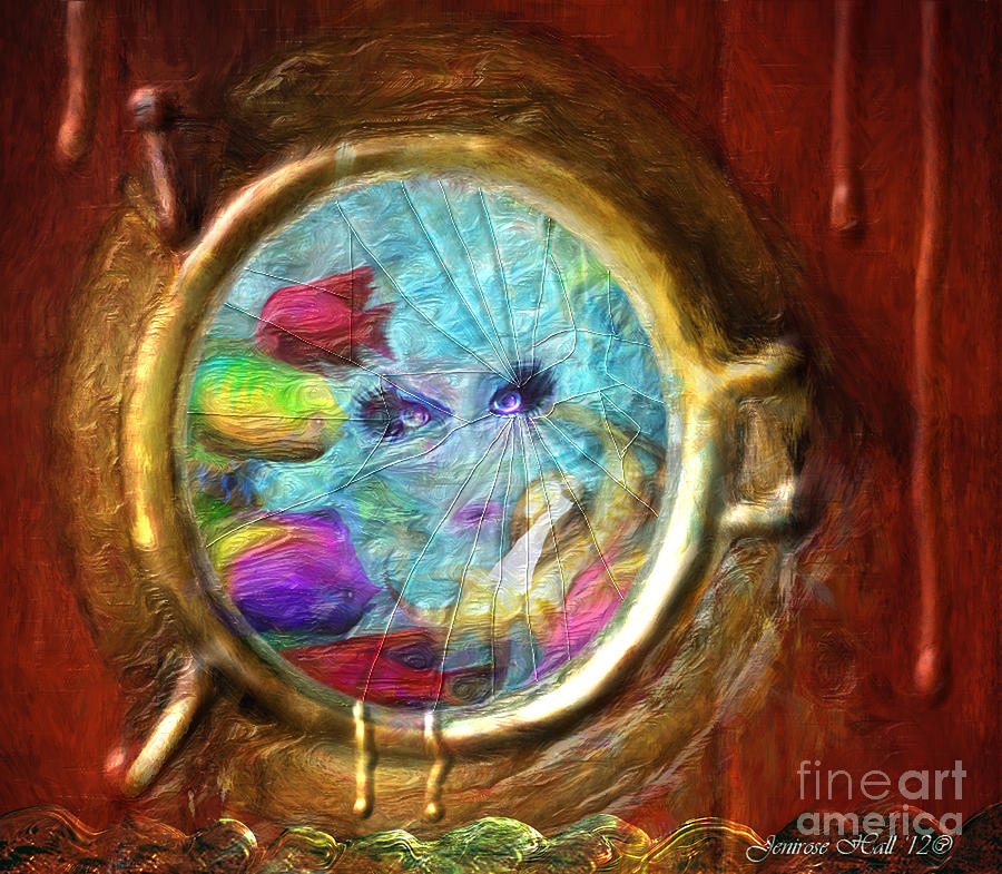When The Sea Siren Calls Digital Art  - When The Sea Siren Calls Fine Art Print