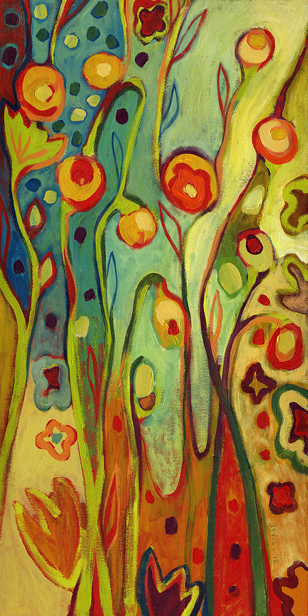 Where Does Your Garden Grow Painting  - Where Does Your Garden Grow Fine Art Print