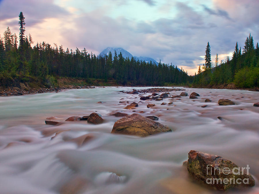 Nature Photograph - Whirlpool River by James Steinberg and Photo Researchers