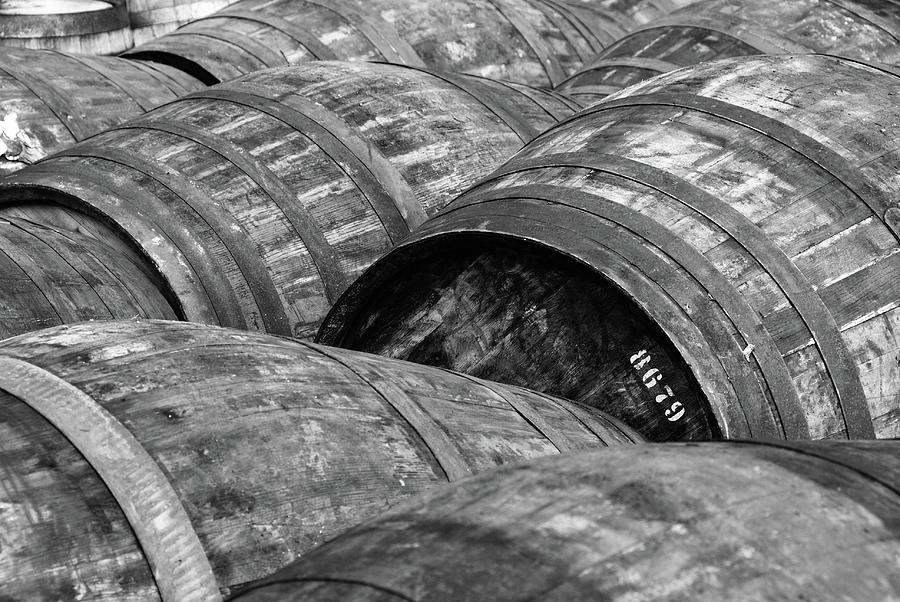 Whisky Barrels Photograph