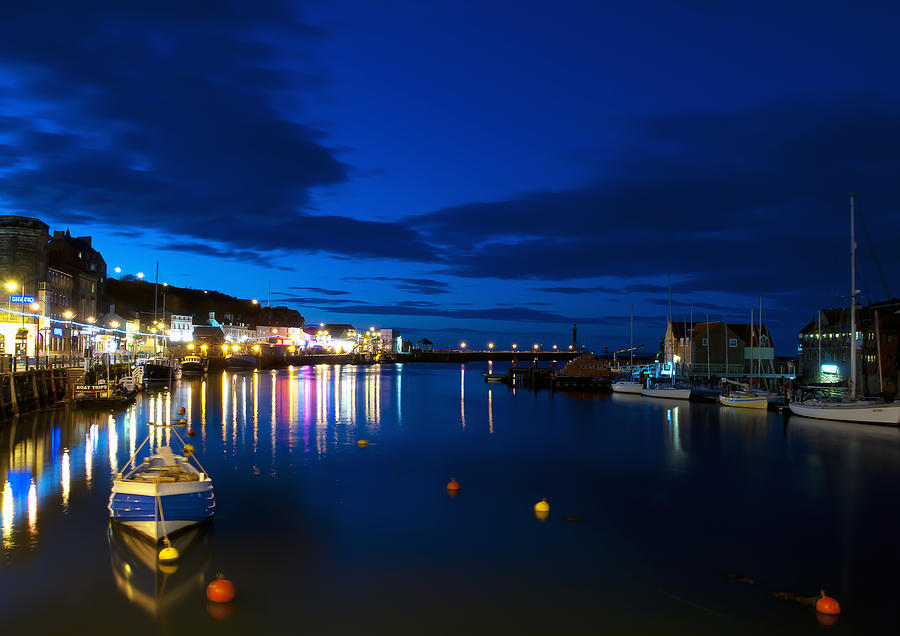 Whitby Lights Photograph  - Whitby Lights Fine Art Print