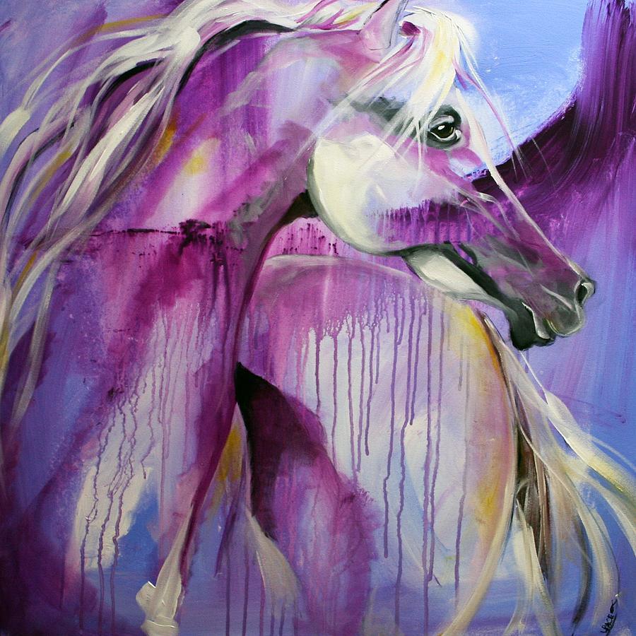 White Arabian Nights Painting