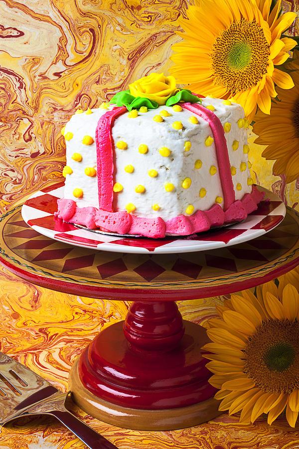White Cake Photograph