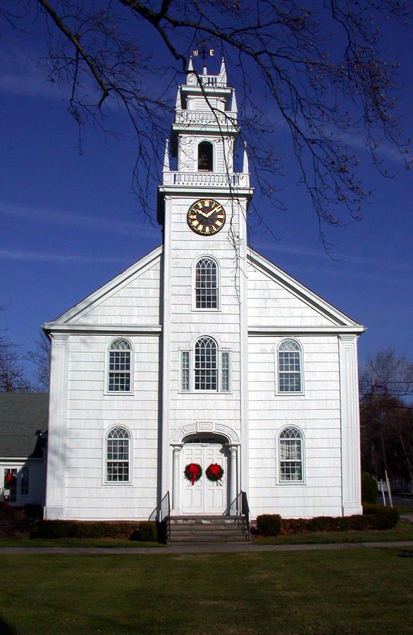 White Church Photograph