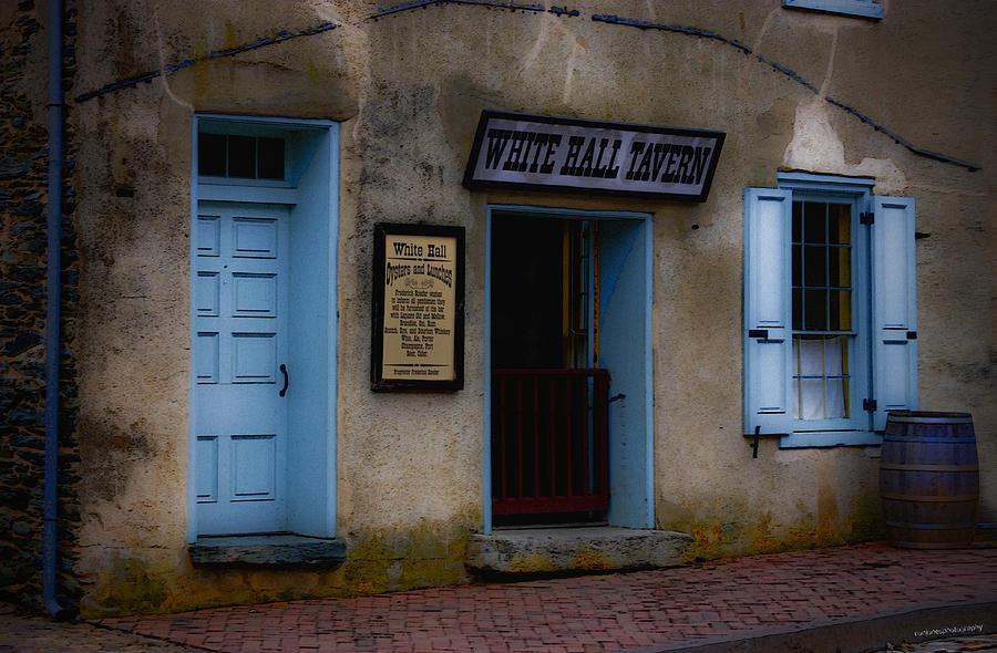 White Hall Tavern Photograph