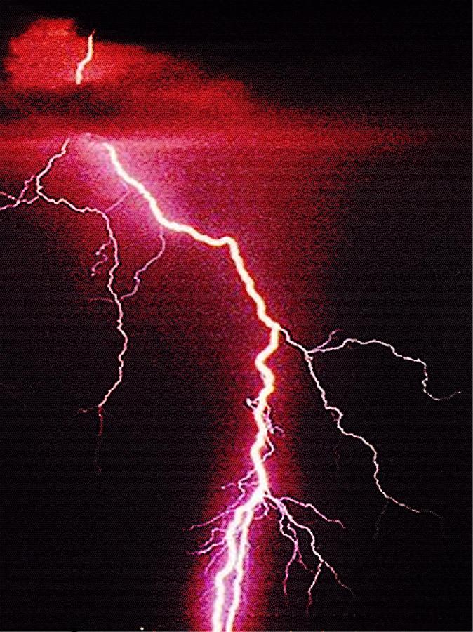 White Lightning Photograph