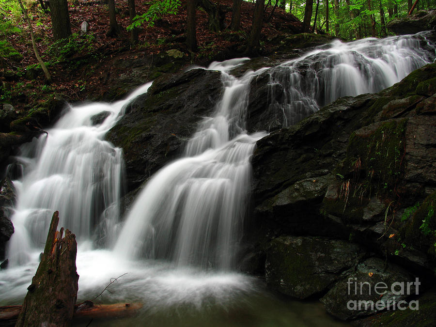 White Mountains Waterfall Photograph  - White Mountains Waterfall Fine Art Print