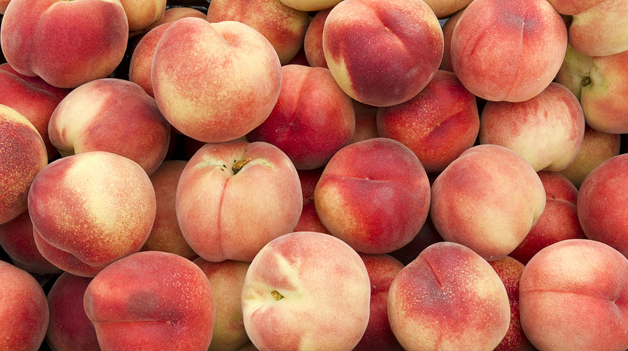 White Peaches Photograph