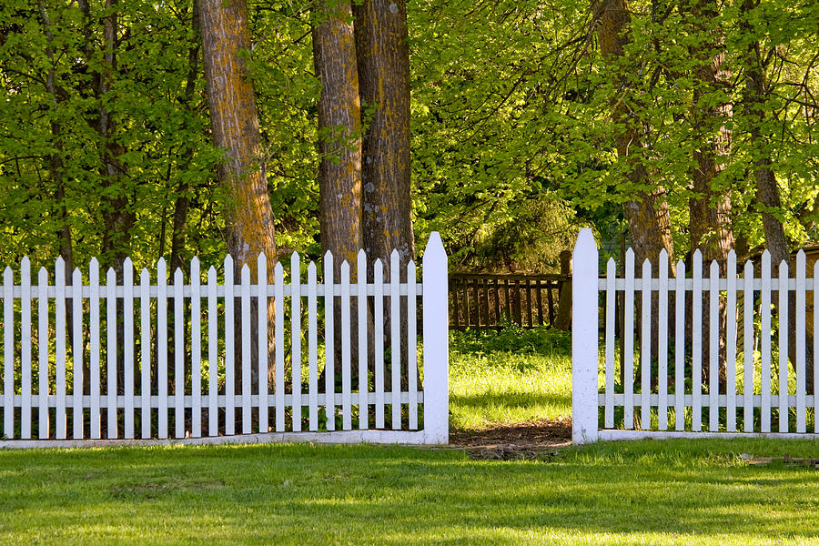 White Picket Fence By Mailis Laos
