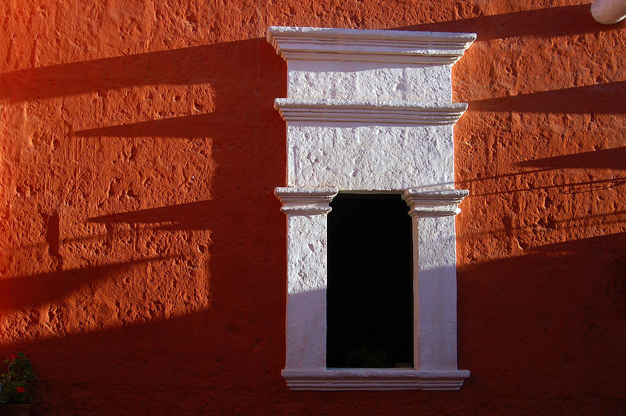 White Window Photograph