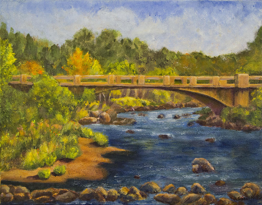 Whitney Crossing Painting