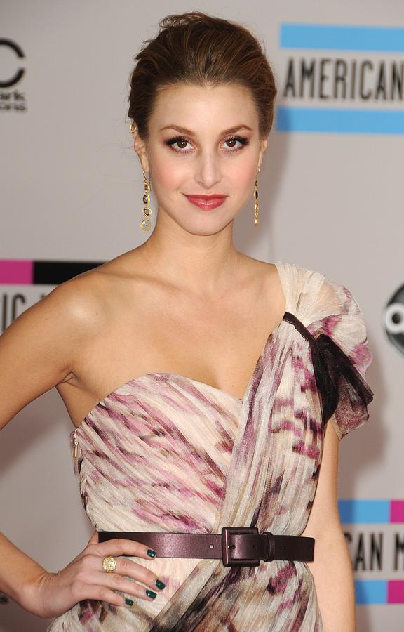 Whitney Port  Wearing A Rafael Cennamo Photograph