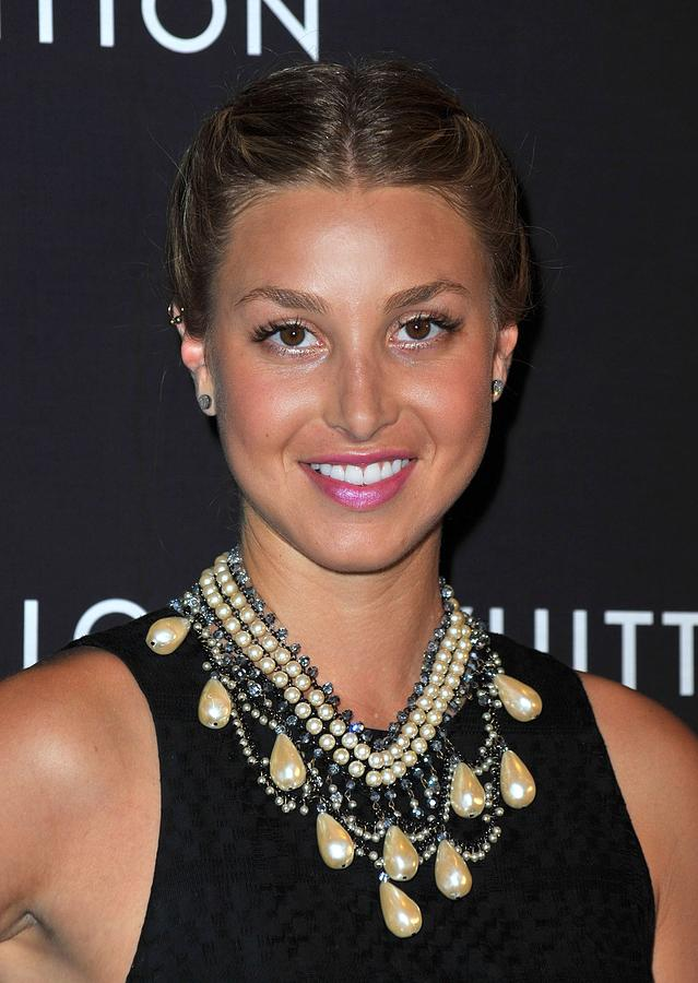 Whitney Port Wearing An Erickson Beamon Photograph