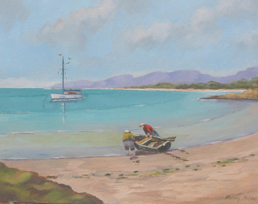 Whitsunday Sailors Painting  - Whitsunday Sailors Fine Art Print