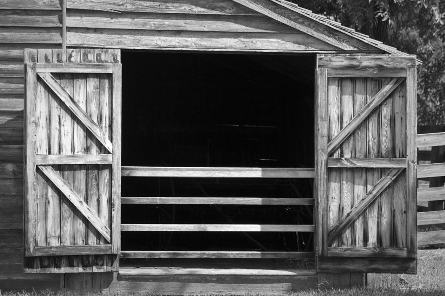 Who Opened The Barn Door Photograph