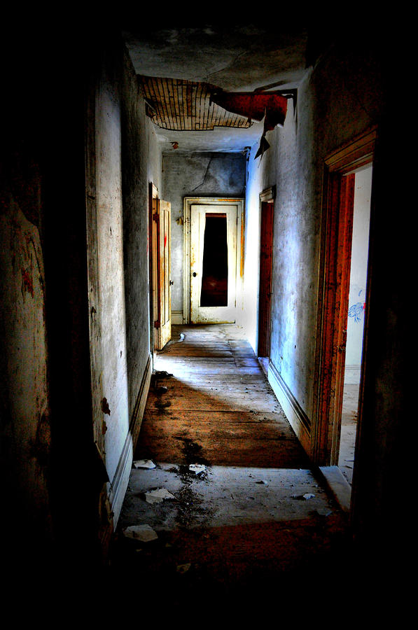 Who Walked The Halls Photograph  - Who Walked The Halls Fine Art Print