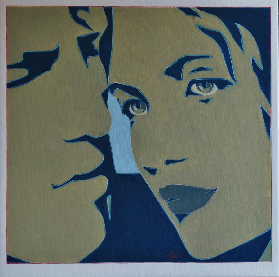 Pop Art Culture Painting - Wicked Game2 by Varvara Stylidou