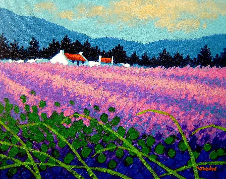 Wicklow Lavender - Ireland Painting  - Wicklow Lavender - Ireland Fine Art Print