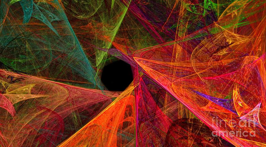 Wide Eye Color Delight Panorama Digital Art