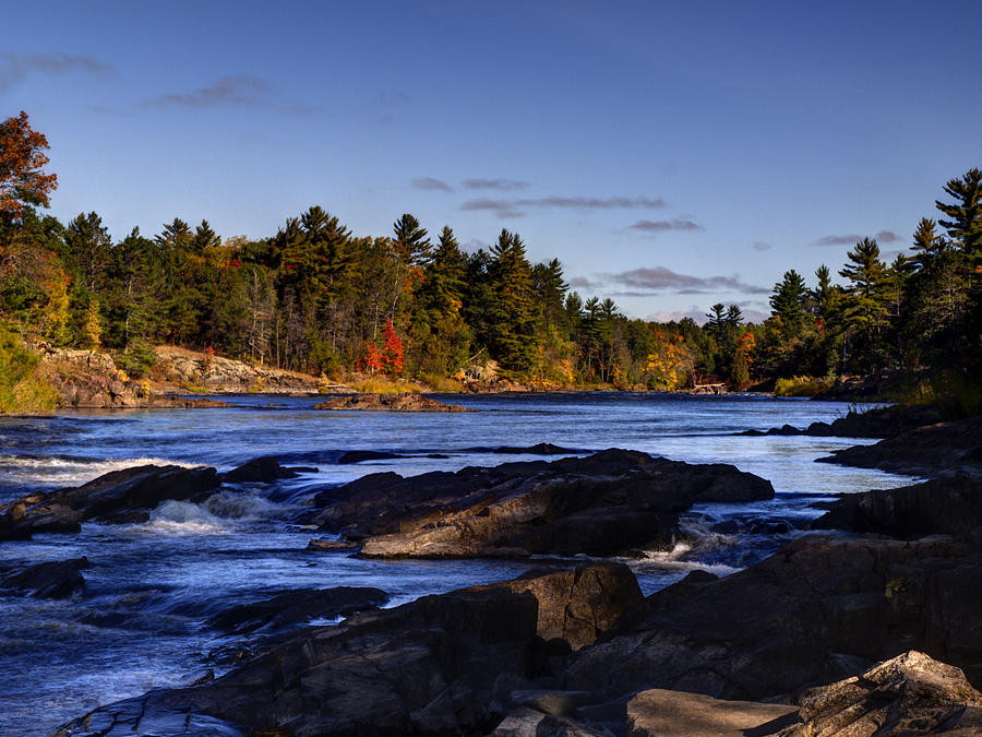 Menominee River Photograph - Wild And Scenic Menominee River by Thomas ...
