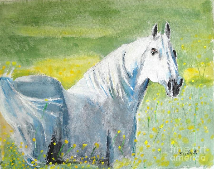 Wild As The Wind Painting  - Wild As The Wind Fine Art Print