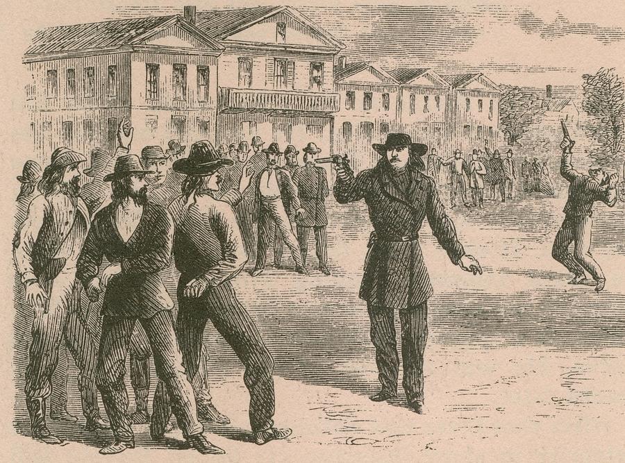Wild Bill Hickok Was A Gunfighter Photograph