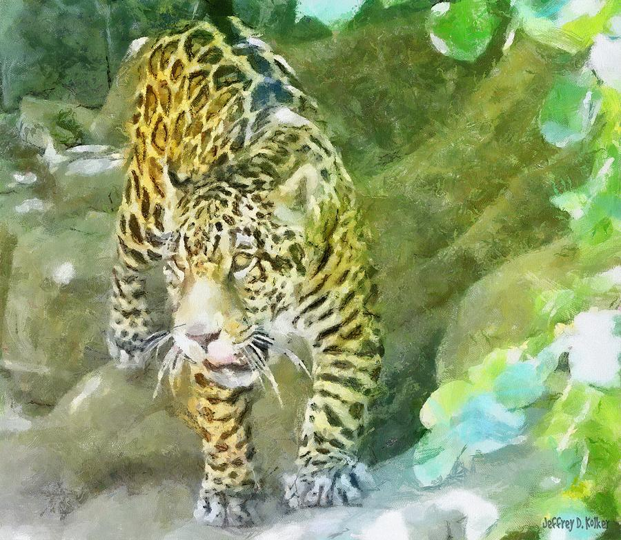 Wild In Spirit Painting  - Wild In Spirit Fine Art Print