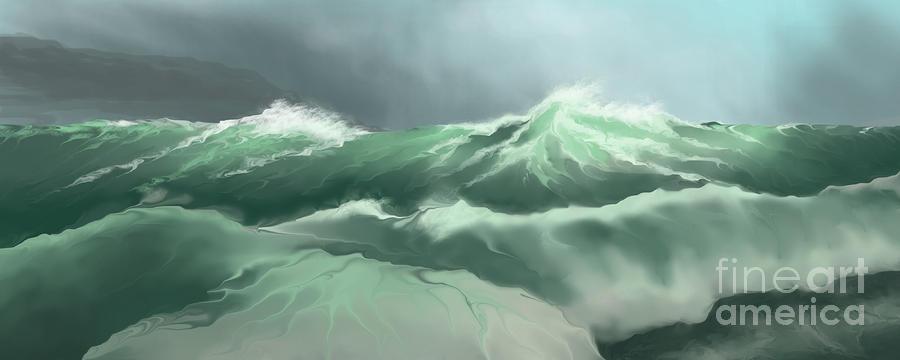 Wild Sea Painting