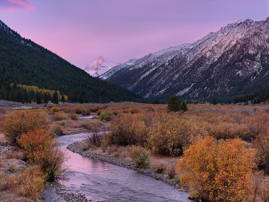 Wildhorse Creek Autumn Sunrise Photograph  - Wildhorse Creek Autumn Sunrise Fine Art Print