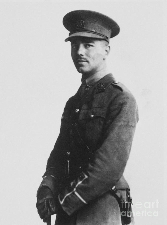 Wilfred Owen (1893-1918) Photograph  - Wilfred Owen (1893-1918) Fine Art Print