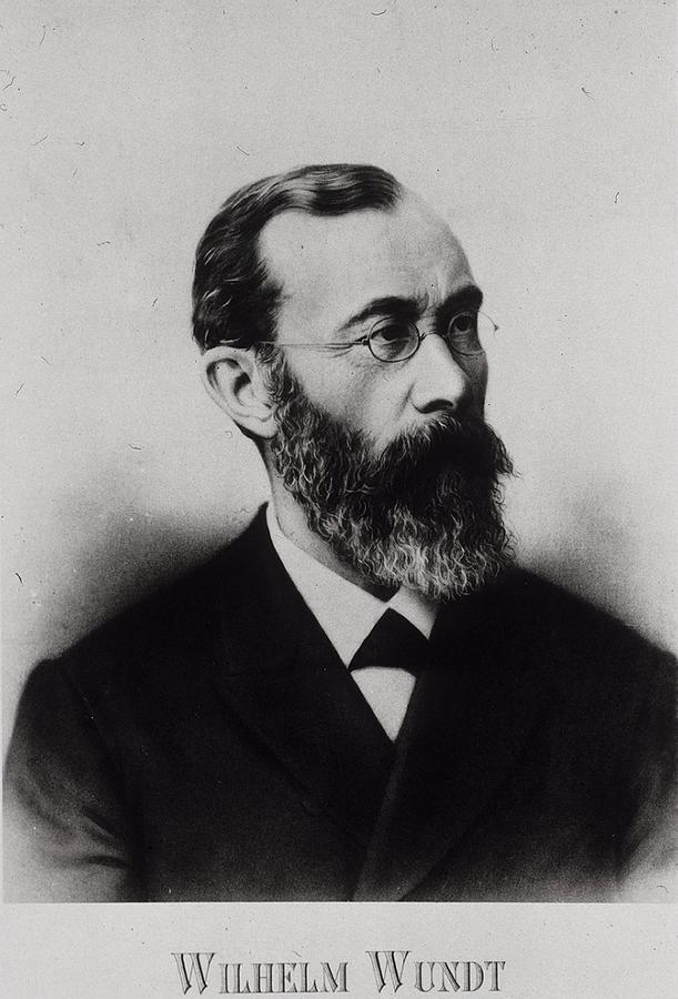Wilhelm wundt 1832 1920 german photograph