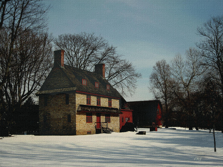 William Brinton House 1704 Photograph