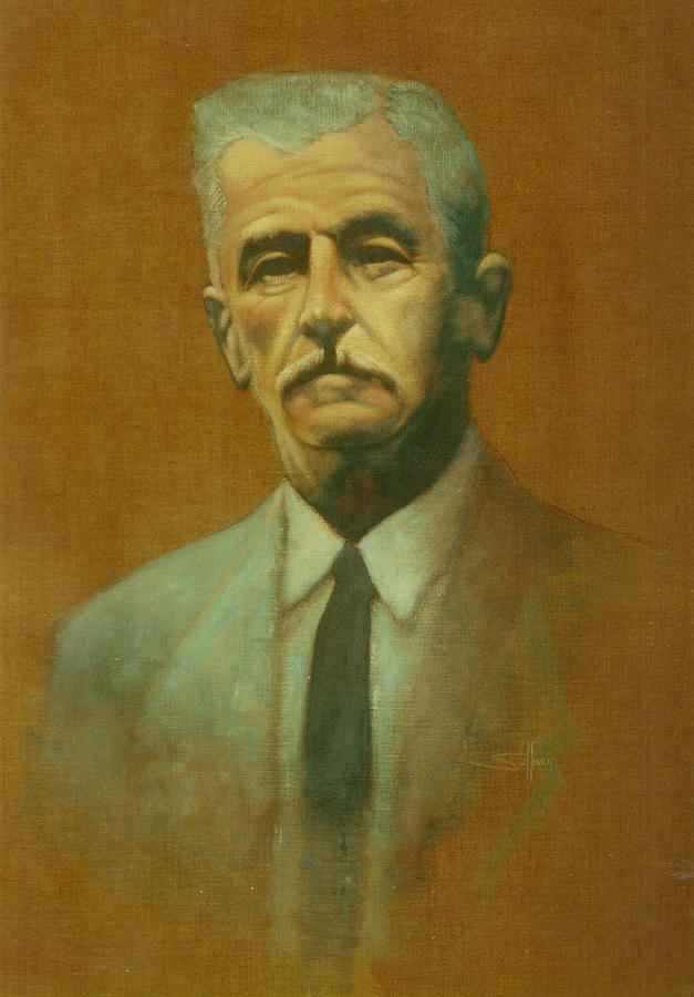 William Faulkner Painting  - William Faulkner Fine Art Print