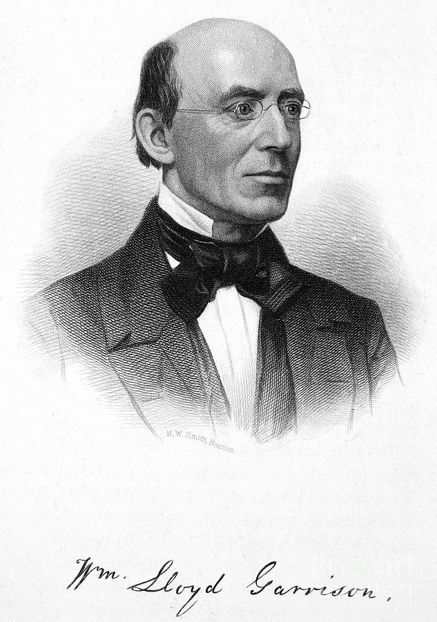 William Lloyd Garrison Photograph