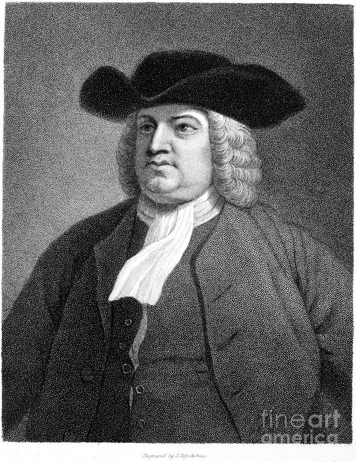 William Penn (1644-1718) Photograph  - William Penn (1644-1718) Fine Art Print