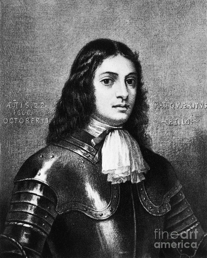 William Penn, Founder Of Pennsylvania Photograph