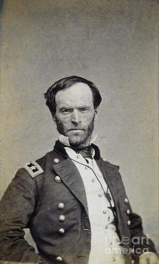 William Tecumseh Sherman Photograph  - William Tecumseh Sherman Fine Art Print
