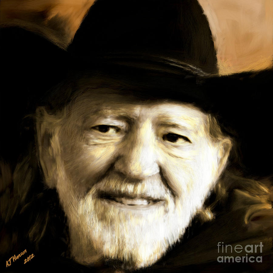 Willie Nelson Photograph  - Willie Nelson Fine Art Print