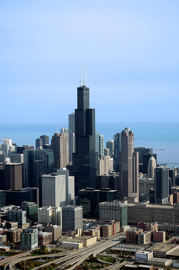Willis Sears Tower 02 Chicago Photograph By Thomas Woolworth