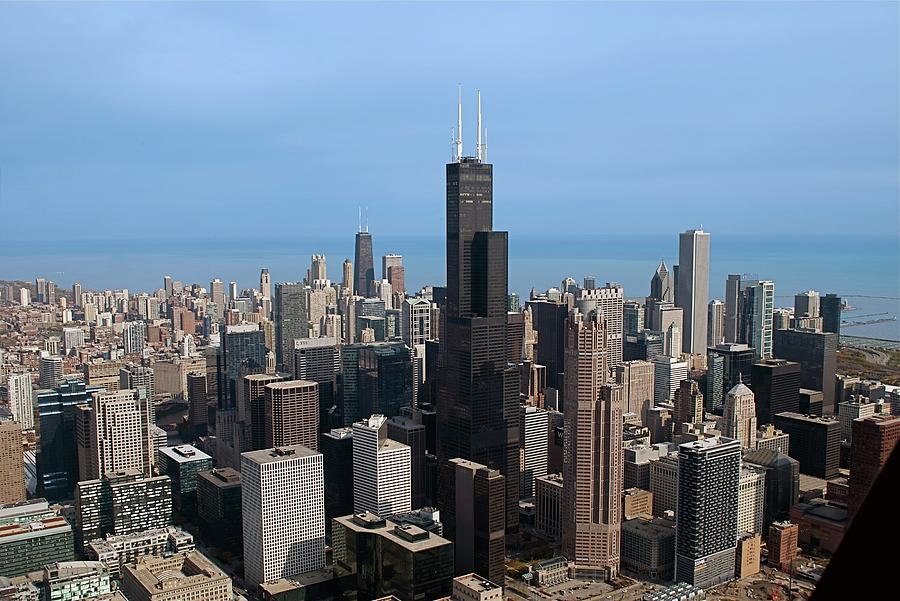 Willis Sears Tower 03 Chicago Photograph By Thomas Woolworth