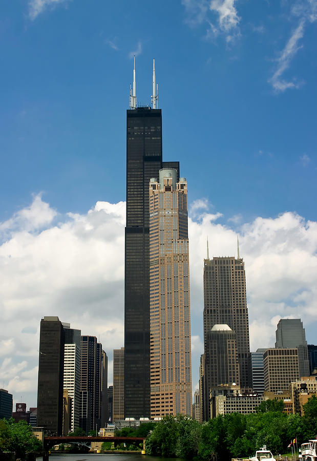 Willis Tower Aka Sears Tower Photograph  - Willis Tower Aka Sears Tower Fine Art Print