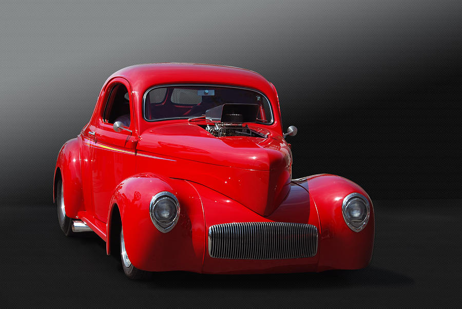 Hot Rod Photograph - Willy Or Wont He by Bill Dutting