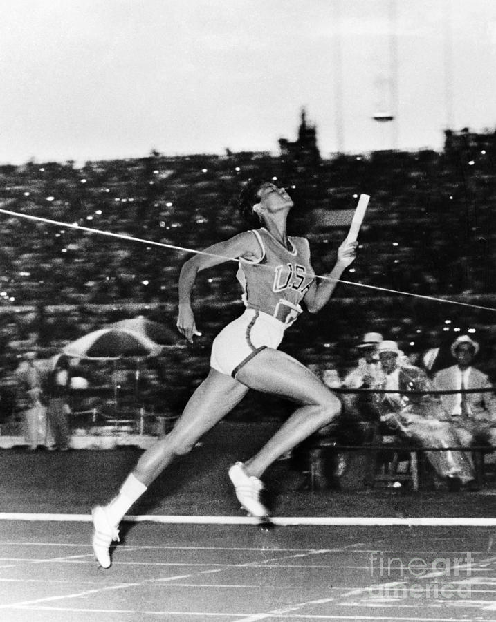 Wilma Rudolph (1940-1994) Photograph