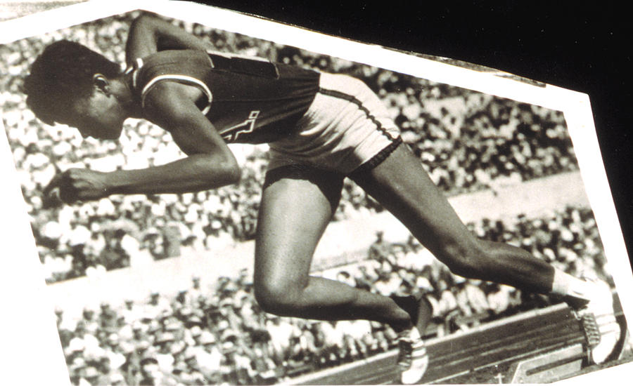 Wilma Rudolph, Winner Of 3 Gold Medals Photograph