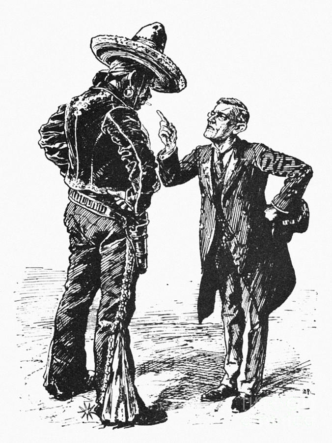 Wilson & Mexico, 1913 Photograph