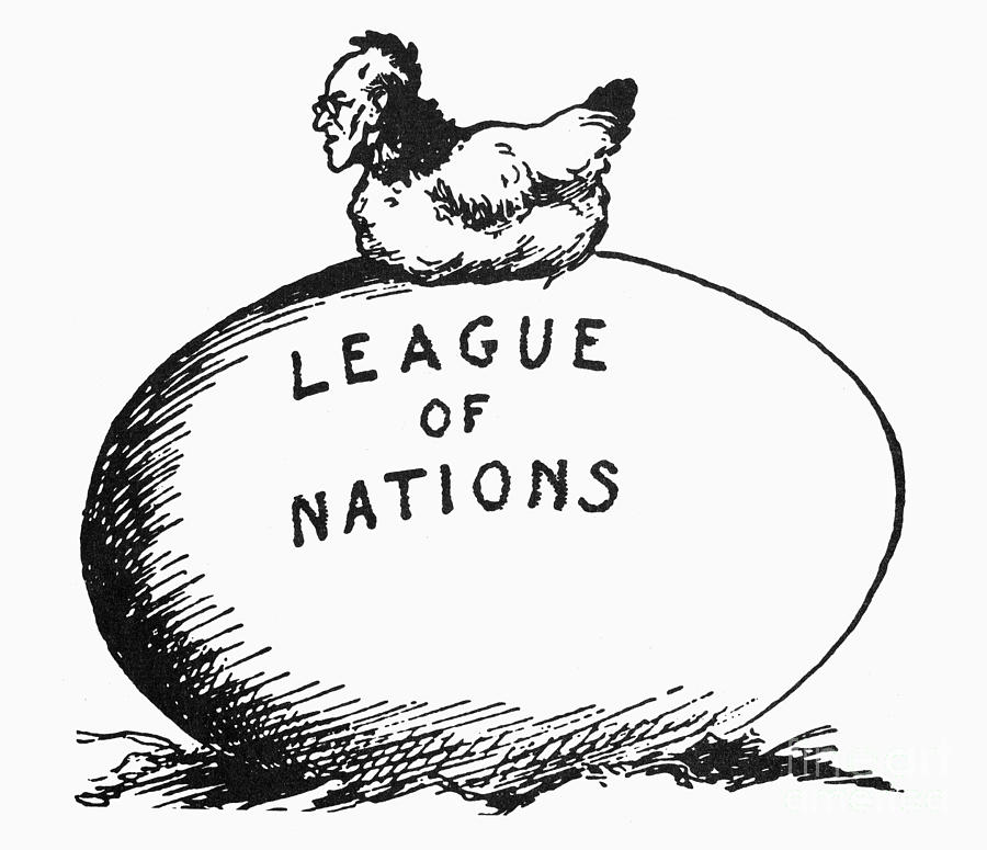 Wilson: League Of Nations Photograph  - Wilson: League Of Nations Fine Art Print