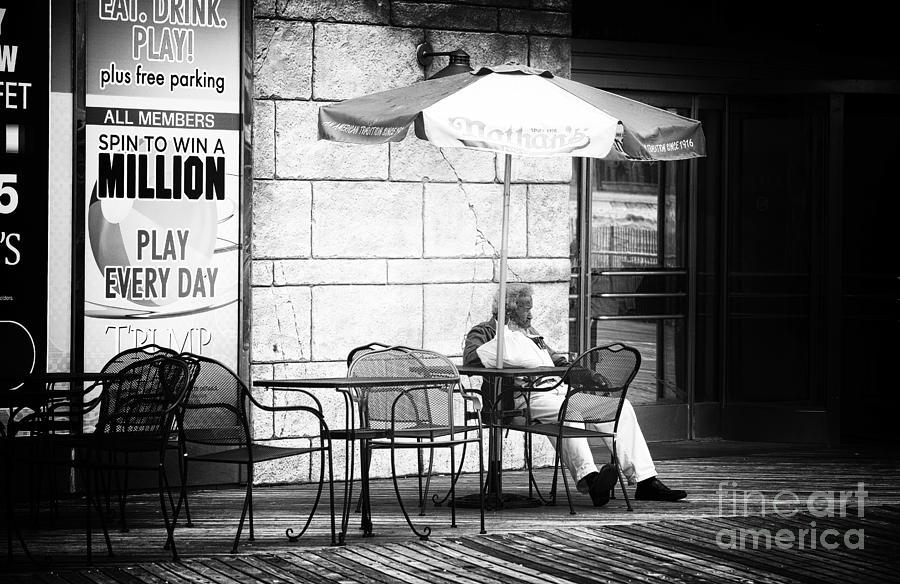 Win A Million Dollars Photograph by John Rizzuto