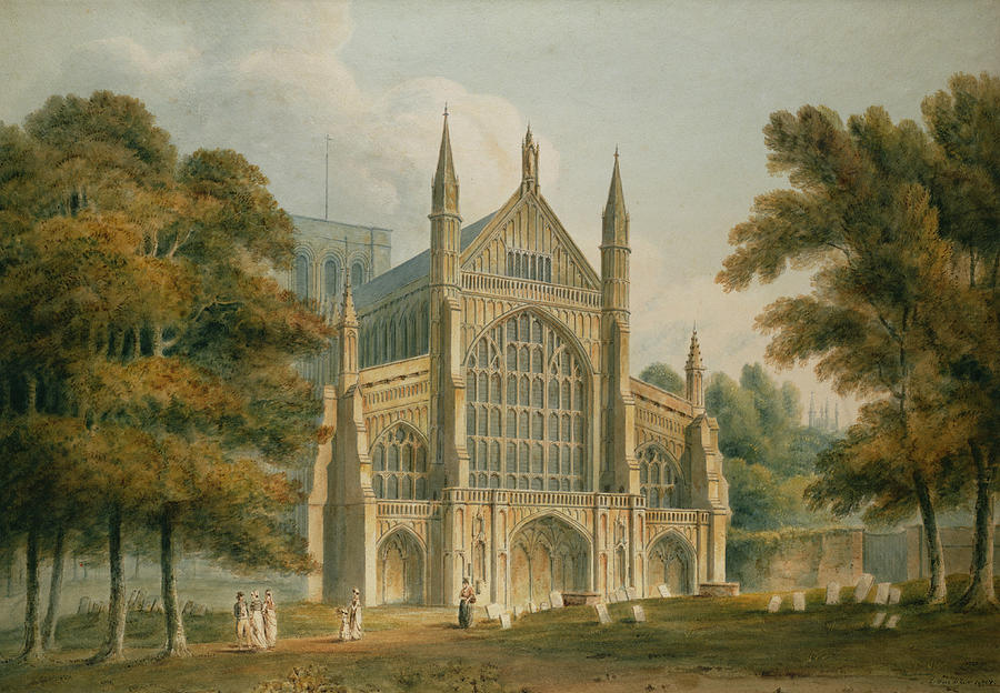 Winchester Cathedral Painting